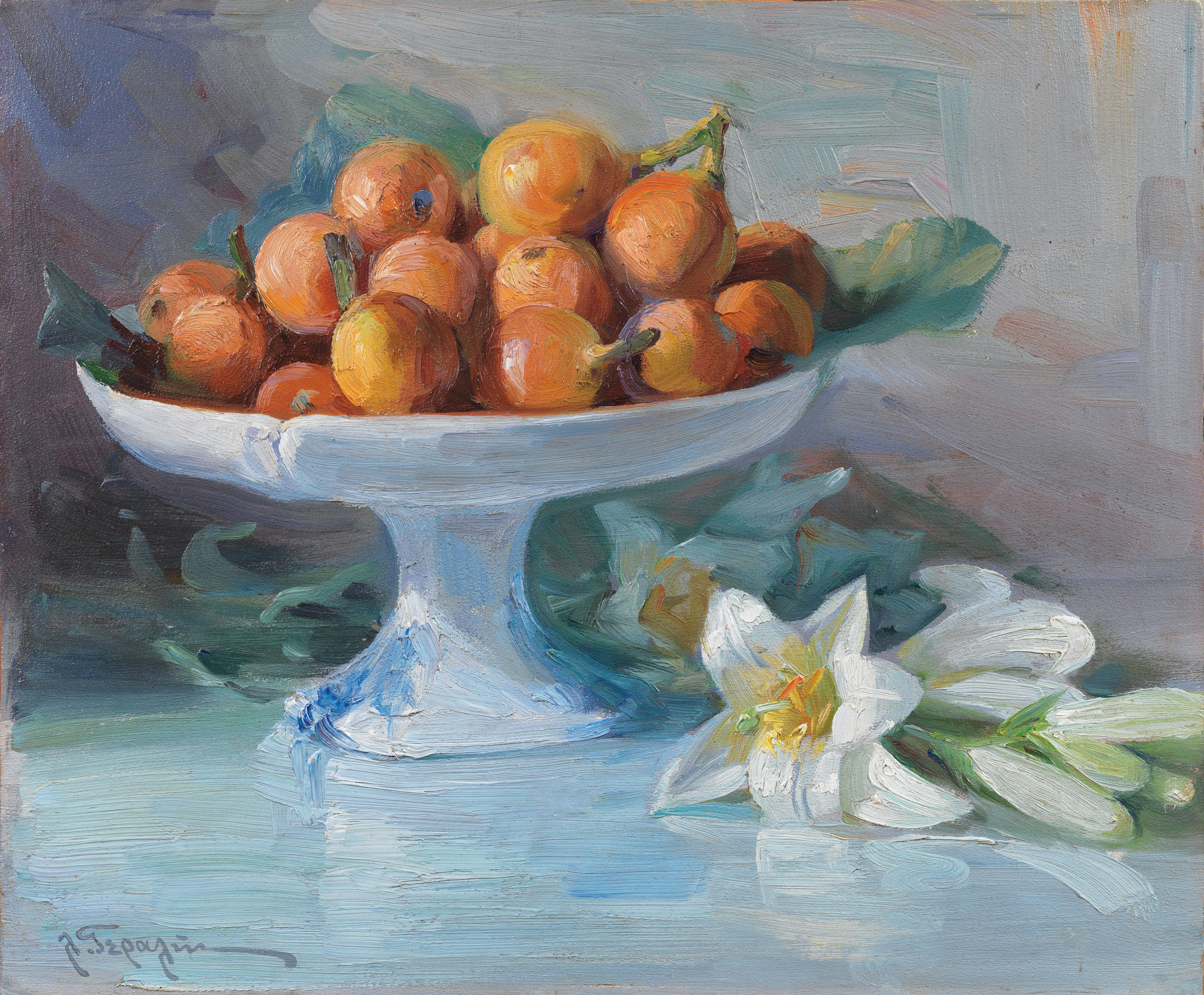 Lucas Geralis - Still life with pears
